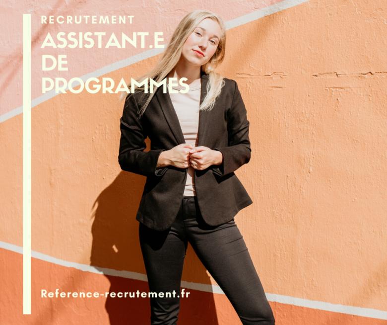 ASSISTANT DE PROGRAMME 3