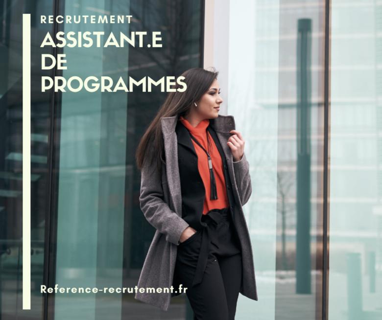 ASSISTANT DE PROGRAMME 4